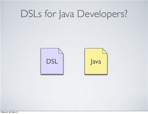 dsls  java developers