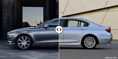 Bmw Volvo Series S90 Side Comparison Caricos