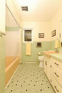 17 best images about mid century love on pinterest pink for Pink and cream bathroom