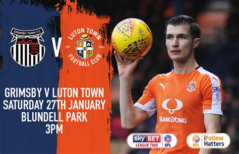 Grimsby Town V Luton Town