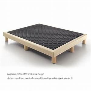 Cadre De Lit Pour Sommier Tapissier : pieds de lit pour sommier tapissier ~ Teatrodelosmanantiales.com Idées de Décoration