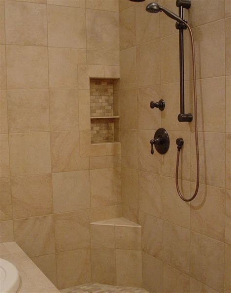 tile shower shampoo niche soap dish  shampoo recess