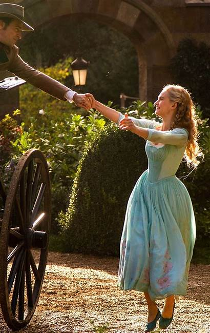 Lily James Cinderella Aesthetic Action Courage Kind