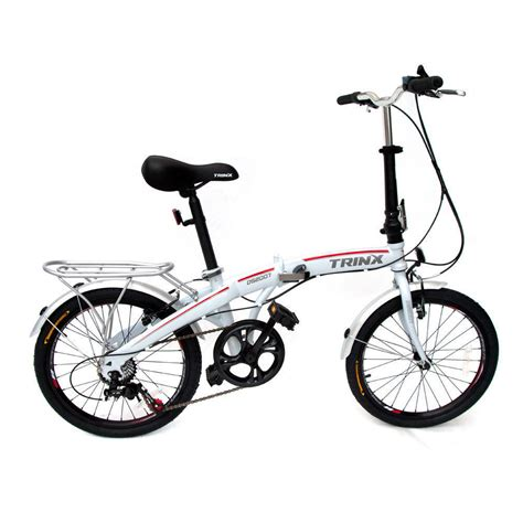 Folding Bike by Trinx Folding Bike 20 Quot Shimano 7 Speed Foldable Bicycle Ds2007