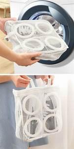 Chaussure Machine A Laver : trends diy decor ideas ce filet linge pratique pour laver les chaussures et les baskets dans ~ Maxctalentgroup.com Avis de Voitures