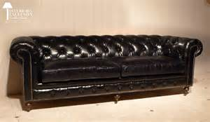 Canapé Chesterfield Convertible D Occasion by Canap 233 Chesterfield Noir Vintage Univers Canap 233