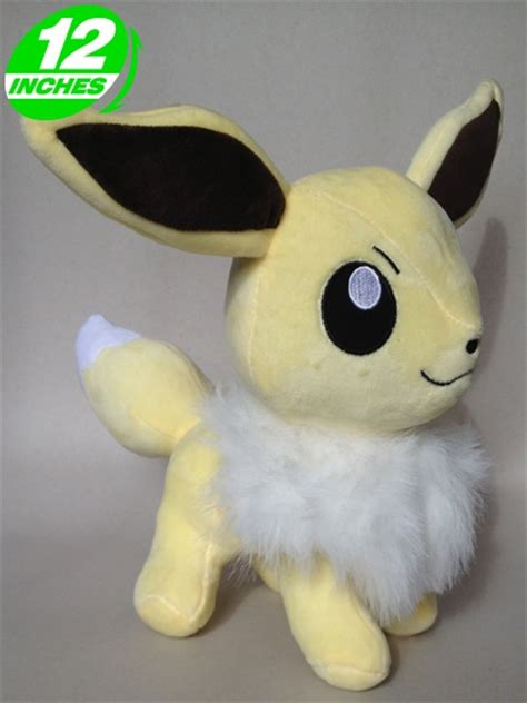 pokemon shiny eevee plush toy 30cm