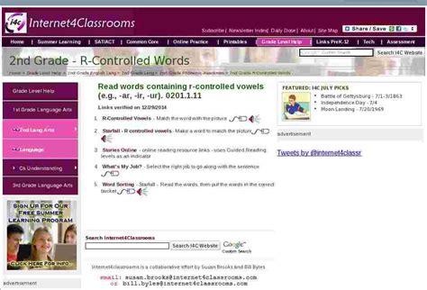 controlled words language  grade language arts