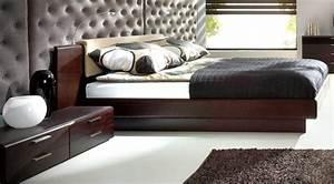 Lit Adulte Haut : lit adulte en bois 2 places chambre coucher haut de gamme lit double adulte home ~ Preciouscoupons.com Idées de Décoration