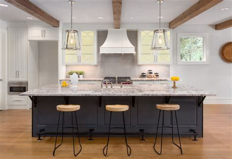 cuisine de comptoir comptoir de granite granite au sommet