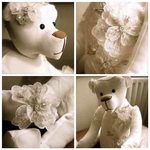20 curated wedding dress keepsake bears ideas by With keepsakes made from wedding dresses