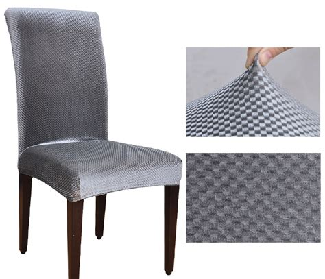 housse chaises velvet fashion design universal elastic chair cover dining