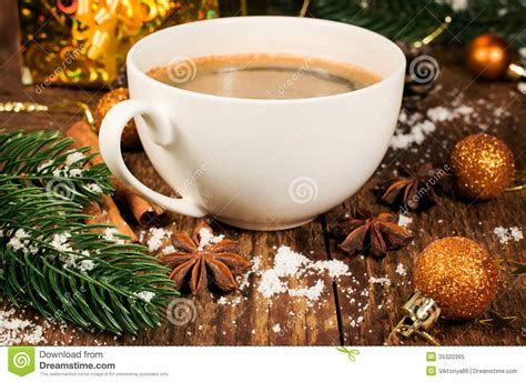 Christmas Still Life With Coffee And Christmas Decorations Best Coffee Maker Norway For One Person Mirrored Glass Tables Uk Cake Recipe In Marathi Descaler Cupcakes Eggless