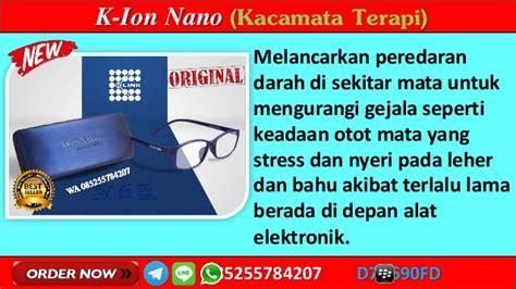 wa  jual kacamata terapi ion nano  link  solo