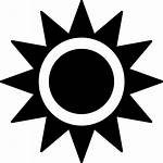 Sun Shape Icon Svg Vector Onlinewebfonts Icons
