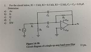 Solved  For The Circuit Below  R1   3 K Ohm  R2   0 5 K Oh