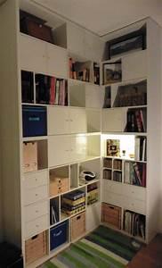 Bibliotheque Angle Ikea : les 20 meilleures id es de la cat gorie ikea bureau d angle sur pinterest ~ Teatrodelosmanantiales.com Idées de Décoration