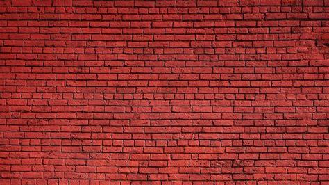 Download Wallpaper 1920x1080 Wall Brick Red Texture