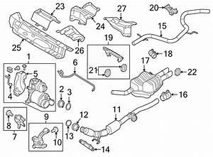 Volkswagen Jetta Diesel Particulate Filter Gasket  Exhaust
