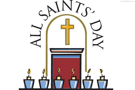 all free clipart all saints day clip