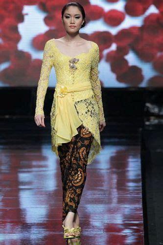 model kebaya modern kartini terbaru  wanita gaun
