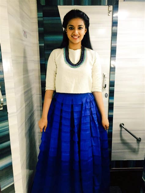 Keerthi Suresh Sexy Thighs And Cleavage Imgart360