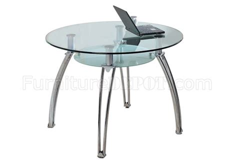 round glass table with metal base round glass top metal base modern dining table w shelf