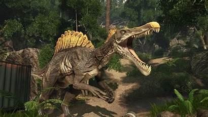 Primal Carnage Extinction Spinosaurus Wiki Card Wikia