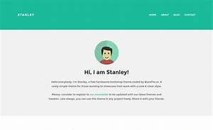 41 high quality free responsive personal portfolio cv for Personal resume website templates free download