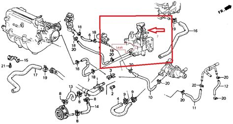 Honda Accord Engine Diagram Automotive Parts