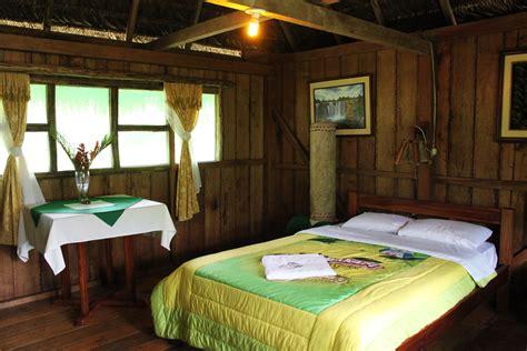 chambre ambiance nature 3 jours en amazonie avec le suchipakari ecolodge tout