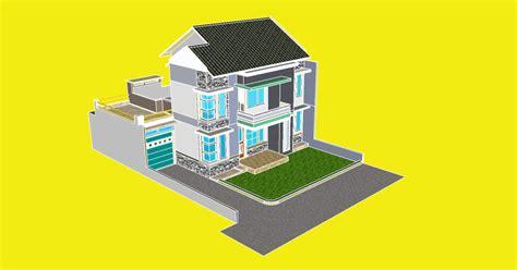 file desain rumah sketchup desain rumah mesra