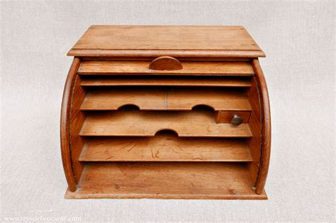 classeur ancien en bois 224 rideau r 234 ve de brocante