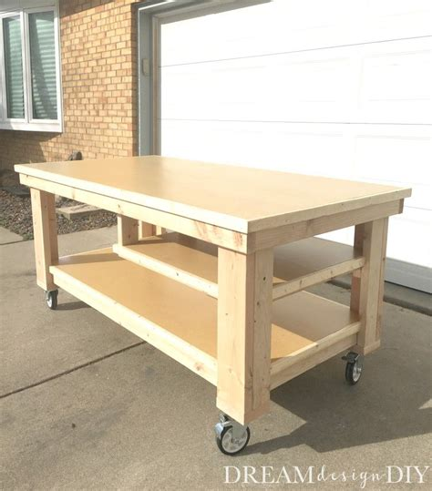 build  ultimate diy garage workbench