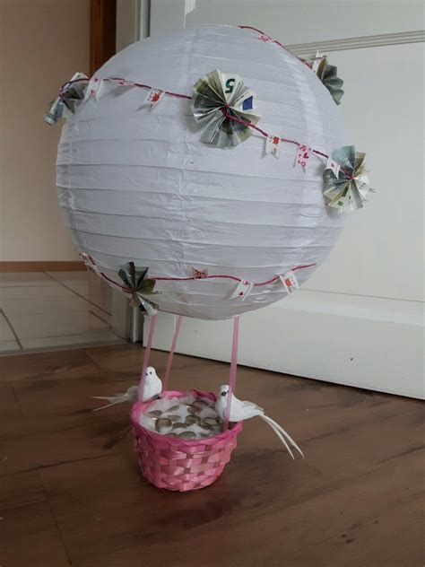 heissluftballon hochzeit bastelkram pinterest
