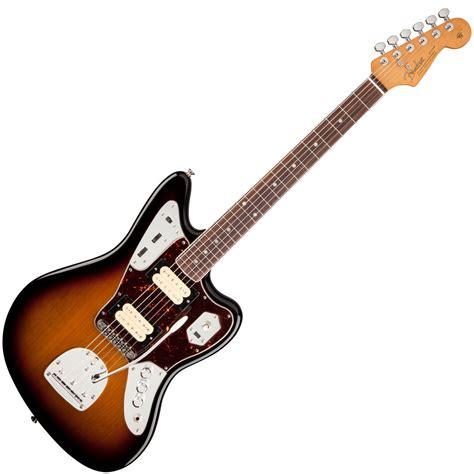 Fender Kurt Cobain Jaguar Nos Guitar, 3tone Sunburst At