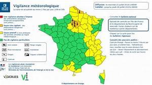 Departement En Alerte Orange : canicule paris le de france nord 9 d partements en alerte vigilance orange ~ Medecine-chirurgie-esthetiques.com Avis de Voitures