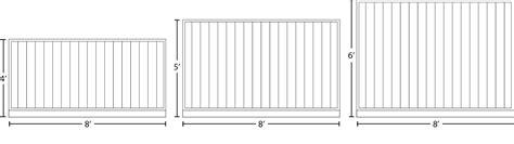 fence sizes rock solid cedar fence panels big red cedar