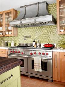 green tile kitchen backsplash dreamy kitchen backsplashes hgtv