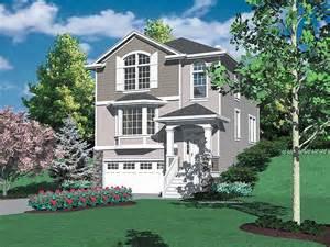 hillside home designs hillside view home plans floor plans