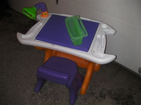 Tikes Desk With L And Chair by Tikes Desk And Chair Set New Price Central Ottawa