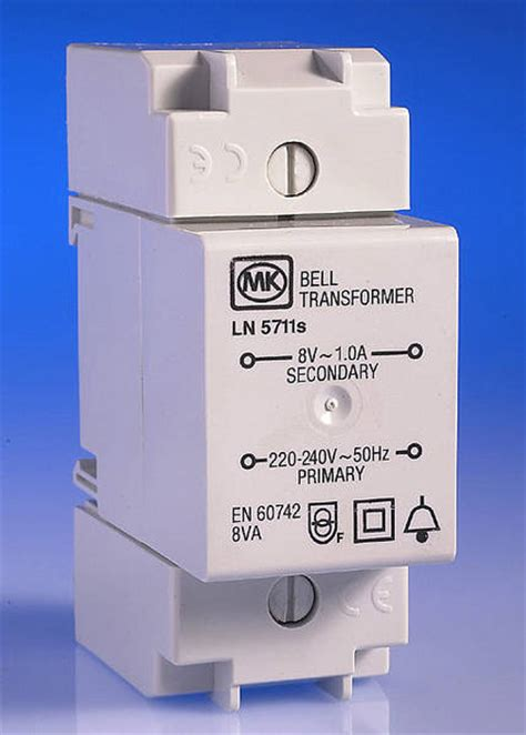 door bell transformer  sentry consumer unit