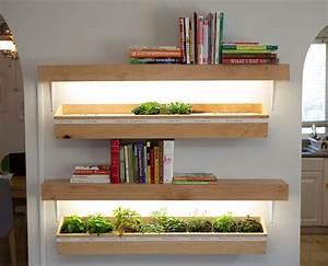 smart diy for vertikal odling inomhus gardening kitchen With katzennetz balkon mit led indoor garden