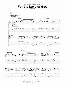 For The Love Of God | Sheet Music Direct