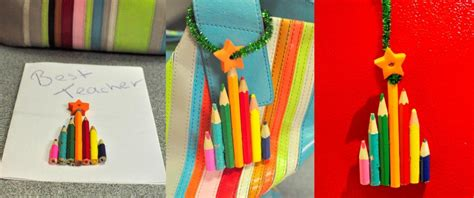 christmas craft ideas for teachers craft pencil tree decoration be a