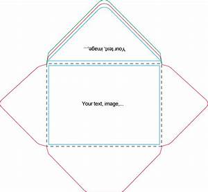 A7 envelope template craft ideas pinterest envelopes for Print on envelope template