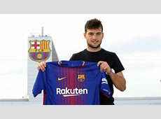Barça have completed the signing of Jose Arnáiz
