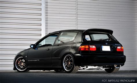 Honda Civic Hatchback Modification by Modified Honda Civic Eg Tuning Honda Civic 1995 Honda