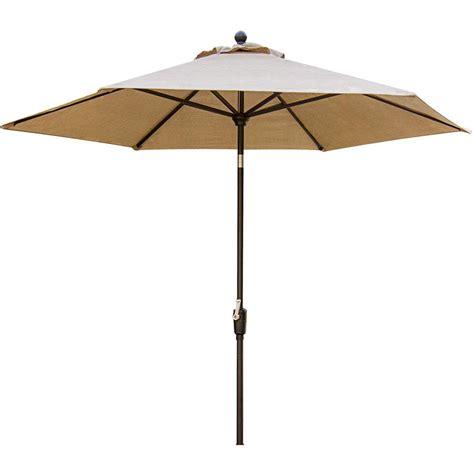 Hton Bay Patio Umbrella Base by Hton Bay Belleville 8 Ft Patio Umbrella In