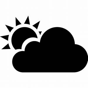 Partly cloudy - Free weather icons